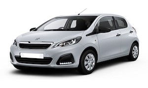Rent a Car in Andros PEUGEOT 108