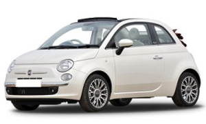 Rent a Car in Andros FIAT 500 AUTO