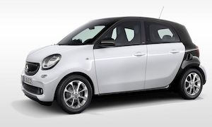 Rent a Car in Andros SMART FOR FOUR AUTO