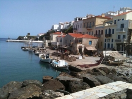 Rent a Car in Andros, Gavrio Port